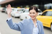 stock photo of waving hands  - travel - JPG