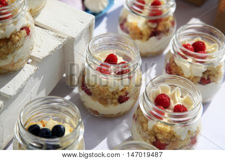 Dessert With Fresh Fruit
