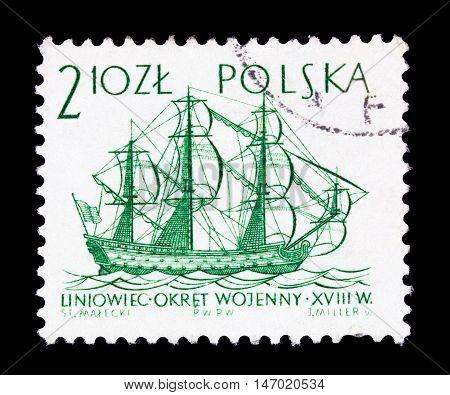 Polska - Circa 1950S