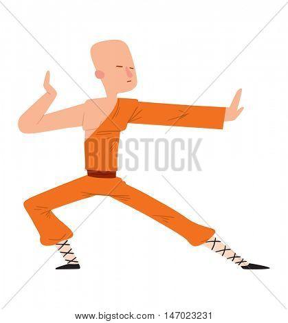 Fighter man vector
