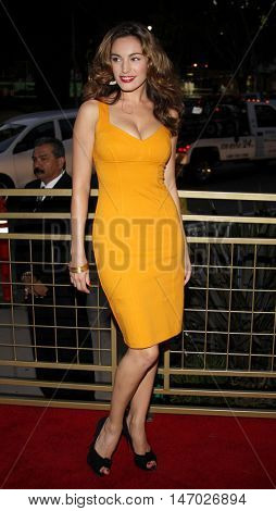 Kelly Brook at the LG Electronics' (LG) Launch of the
