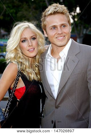 Heidi Montag and Spencer Pratt at the LG Electronics' (LG) Launch of the