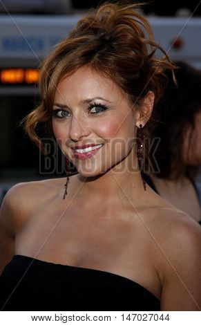 Christine Lakin at the LG Electronics' (LG) Launch of the