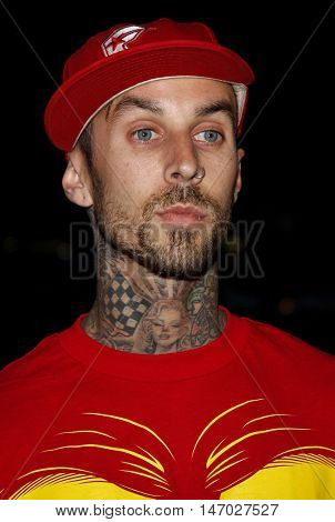 Travis Barker at the LG Electronics' (LG) Launch of the