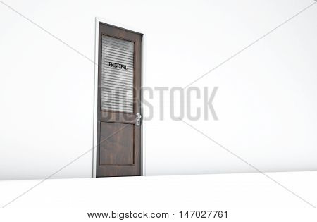 Door In Principal Room