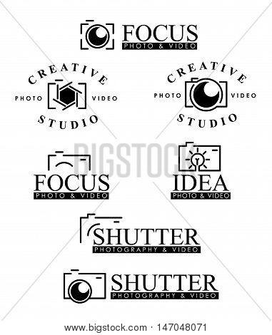 Photography Logo, Photography Badges, Photography Logo Concept