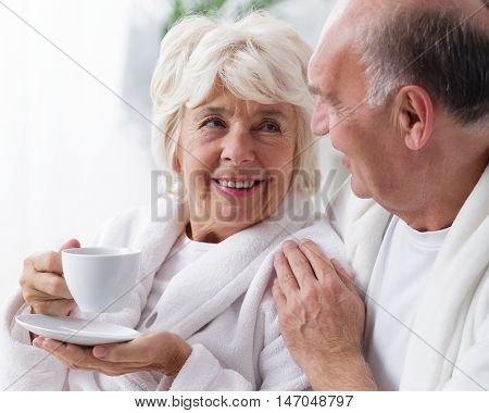 Marriage Drinking Coffee