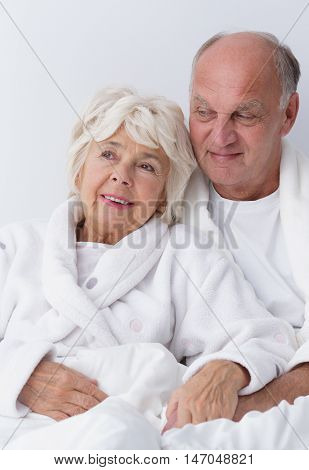 Elderly Marriage Embracing