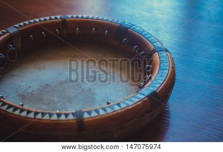 The Traditional Uzbek Musical Instrument Doira,