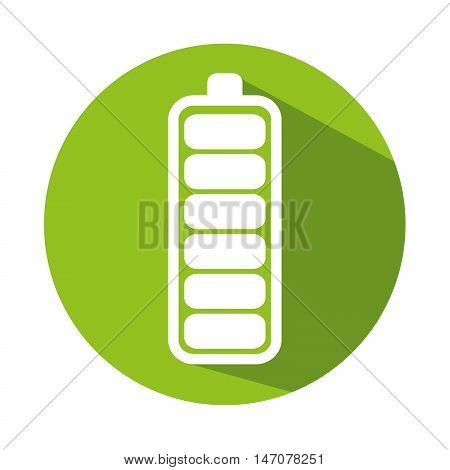 icon energy efficiency design isolated vector illustration eps 10