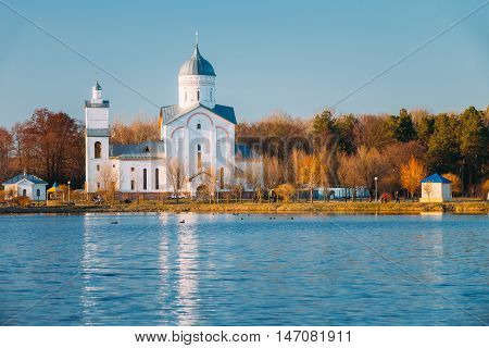 St. Alexander Nevsky Church in Gomel, Belarus. Orthodox Church.