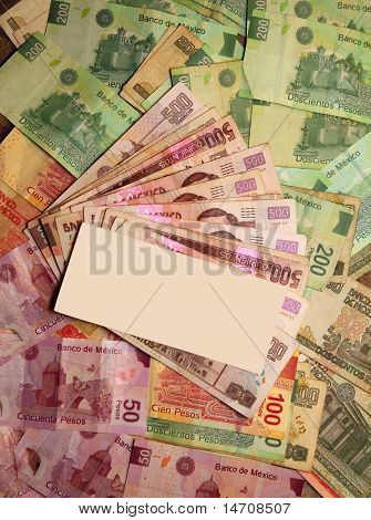 Mexican Peso Currency Notes Banknotes