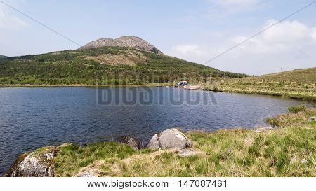 Glenbeg Lough on Beara Peninsula in County CorkIreland