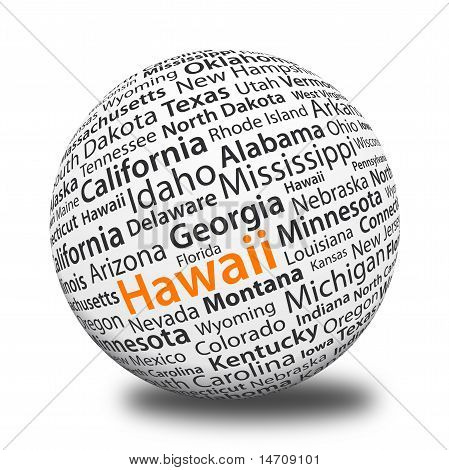 Word Ball - Hawaii