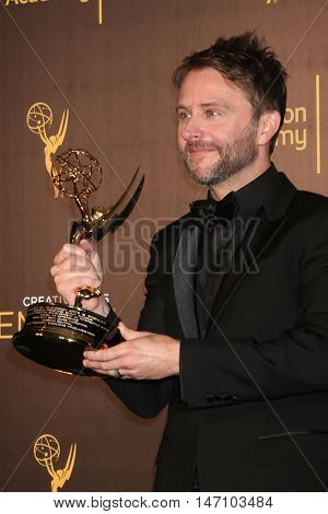 LOS ANGELES - SEP 11:  Chris Hardwick at the 2016 Primetime Creative Emmy Awards - Day 2 - Press Room at the Microsoft Theater on September 11, 2016 in Los Angeles, CA
