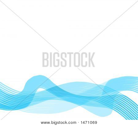 Blue Ribbon Wave