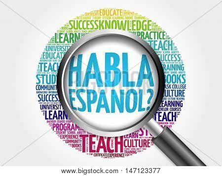 Habla Espanol? (speak Spanish?)