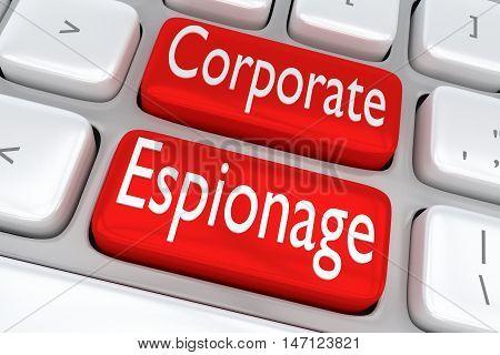 Corporate Espionage Concept