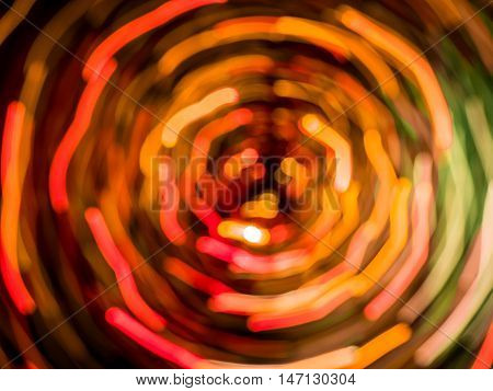 Picture of red and purple random abstract light trails bokeh