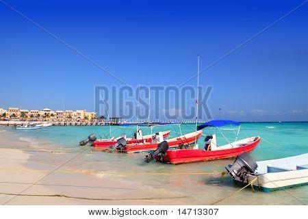 Playa Del Carmen Mexico Mayan Riviera Beach