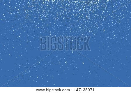 Falling Snow Winter Background.