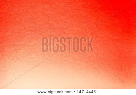 Abstract orange background with spotlight paper texture
