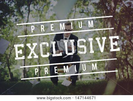 Premium Exclusive Business Concept
