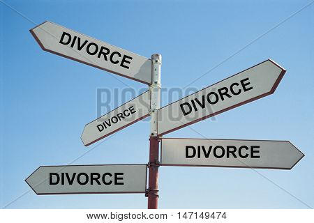 All roads to a divorce