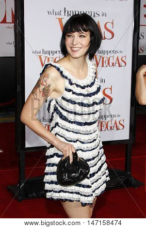 Diablo Cody at the World premiere of 'What Happens in Vegas' held at the Mann Village Theater in Westwood, USA on May 1, 2008.