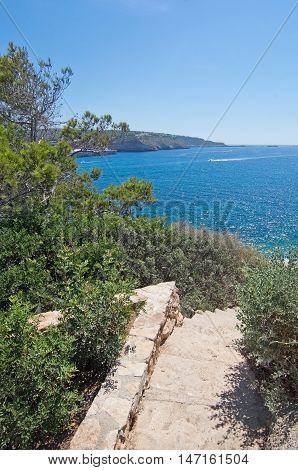 Ocean Landscape View