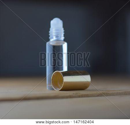 different perfume bottle soft focus ; perfume in bottle