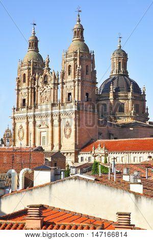 Iglesia de la Clerecia in Salamanca, Castilla y Leon region, Spain