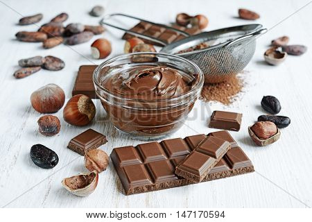 Chocolate And Ingredients