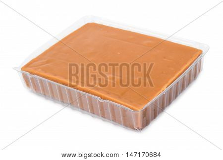 Pieces Of Sherbet Isolated On