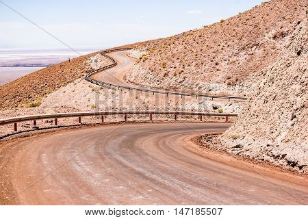 Road Through The Desert