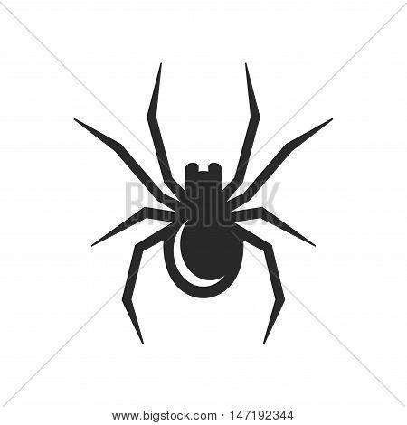 Spider Icon on White background. Vector illustration