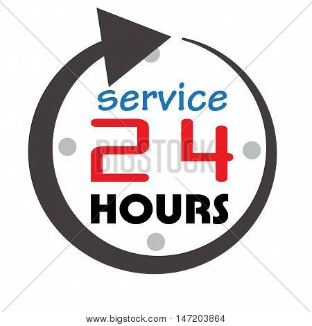 service and support for customers around the clock