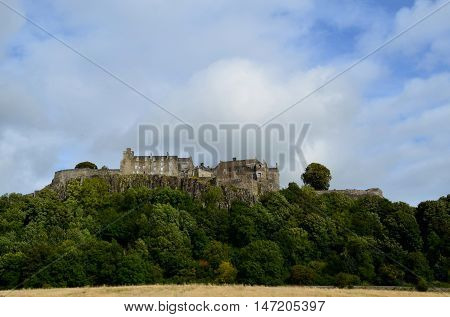 Stirling Castle was a key to Scottish history through the years.