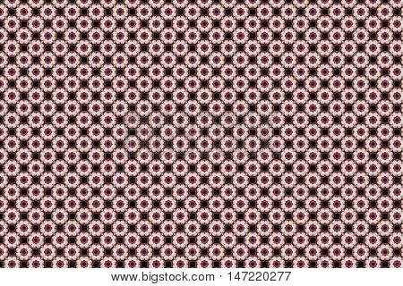 intricate abstract background with floral shape pattern