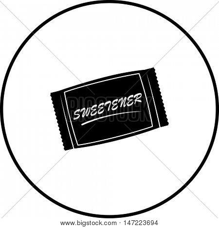 artificial sweetener packet symbol