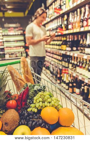 Man In The Supermarket
