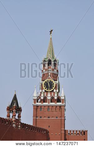 Moscow Kremlin tower