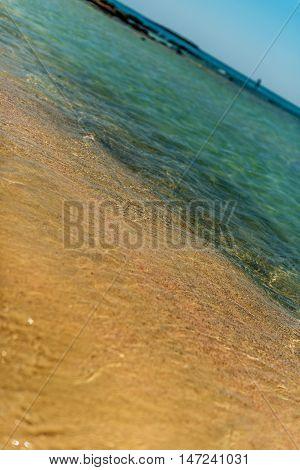 Crete, Greece: famous beach in Elafonisi or Elafonissi lagoon