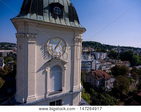 Salvatorkirche Gera Church Salvator Aerial View