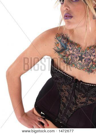 Wild Tattooed Beauty