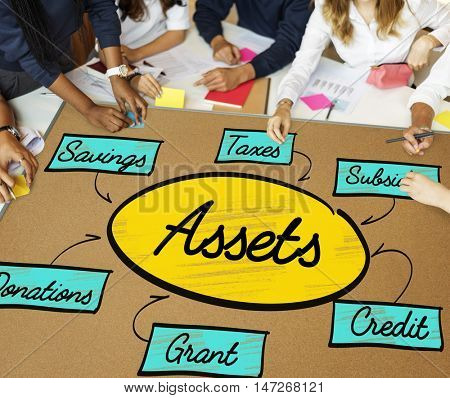 Accounting Assets Finance Money Concept