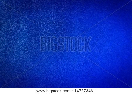 Close up Navy Blue leather and texture background