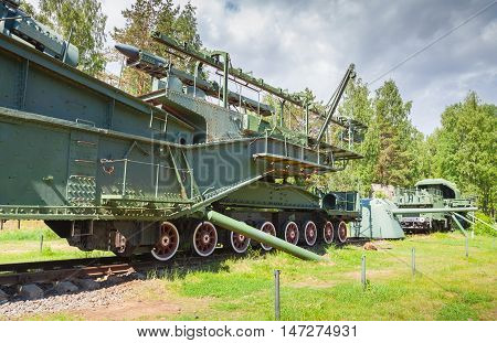 Tm-3-12 Railway Gun, Krasnaya Gorka Fort