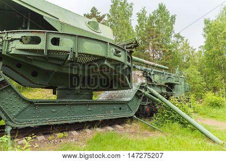 Krasnaya Gorka Fort. Tm-1-180 Railway Gun