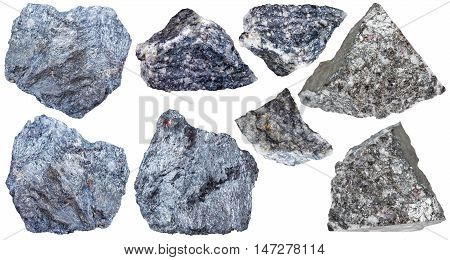Collection From Specimens Of Antimony Ore